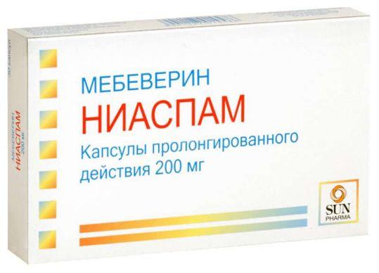 Ниаспам 200мг 30 шт. капсулы пролонгированного действия, фото №1