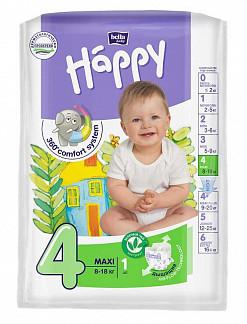 Белла беби хеппи подгузники макси 8-18кг 1 шт.