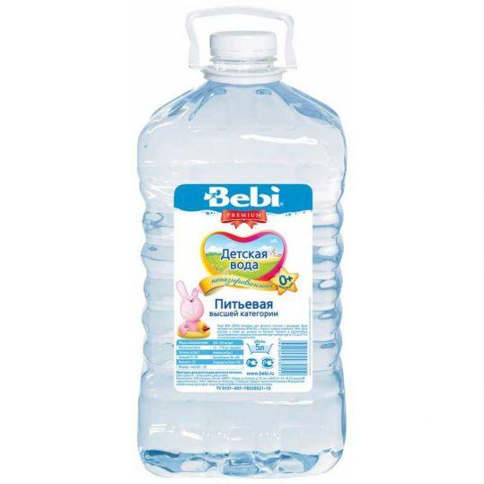Вода беби детский 5л без газа, фото №1