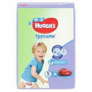 Хаггис трусики-подгузники для мальчиков 5 (13-17кг) 32 шт.