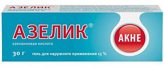Азелик 15% 30г гель для наружного применения