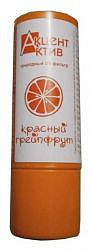Акцент-актив помада гигиеническая антигерпесная грейпфрут 4г