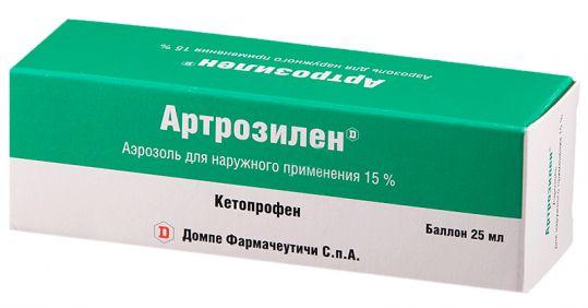 Артрозилен 15% 25мл аэрозоль для наружного применения, фото №1