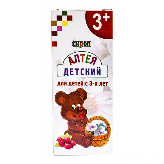Алтей сироп для детей 3+ 100мл, фото №1