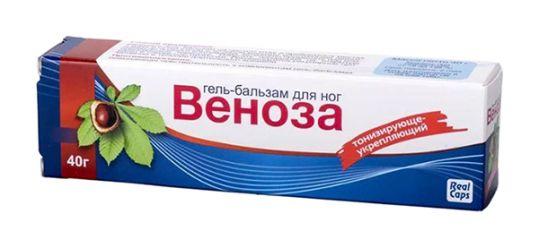 Веноза гель-бальзам для ног 40г, фото №1