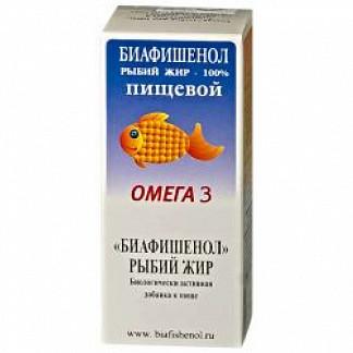 Рыбий жир биафишенол пищевой 100мл