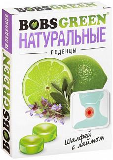 Бобсгрин леденцы шалфей с лаймом (бад) 35г
