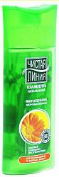 Чистая линия шампунь питательный для нормальных и жирных волос календула и шалфей 400мл