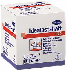 Хартманн идеаласт бинт когезивный 4х6см красный