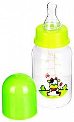 Бусинка бутылочка пластиковая с силиконовой соской арт.1101 150мл гуангжоу холдинг синок ай