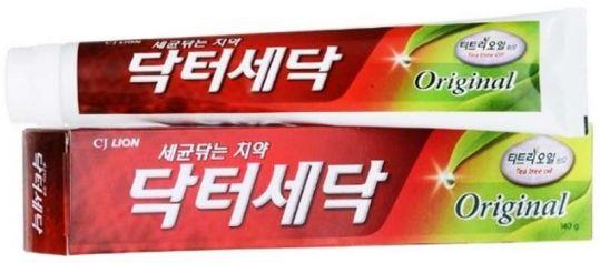 Лион др.седок зубная паста с маслом чайного дерева ориджинал 140г, фото №1