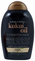 Органикс кондиционер для увлажнения и гладкости волос с маслом гавайского ореха (кукуи) 385мл