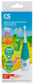 Сиэс медика зубная щетка электрическая звуковая sonicpulsar cs-561 kids голубая
