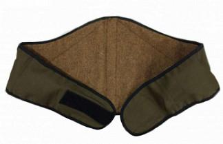 Пояс-корсет собачья шерсть размер 52-56 xxl