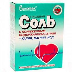 Соль пищевая профилакт.350г с пониж na