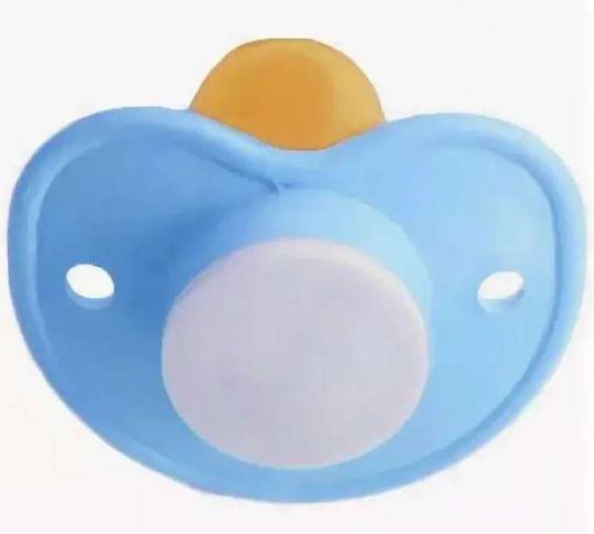 Соска-пустышка улыбка без кольца в индивидуальной упаковке, фото №1