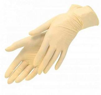 Перчатки смотровые нестерильные латексные опудренные размер m №50 пар