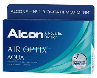 Эйр оптикс аква линзы контактные мягкие bc 8.6 d-1,25 6 шт.