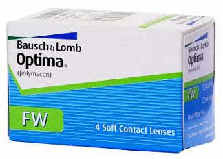 Оптима фв линзы контактные мягкие bc 8,7 -2,50 4 шт.