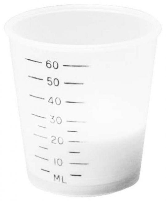 Ворвик стаканчик мерный 60мл, фото №1