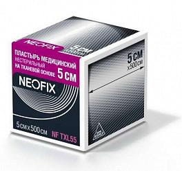Неофикс пластырь медицинский на тканевой основе 5х500см