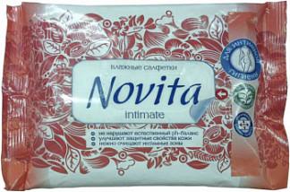 Новита салфетки влажные для интимной гигиены 15 шт.