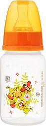 Мир детства бутылочка полипропиленовая с силиконовой соской 0+ арт.11031 125мл