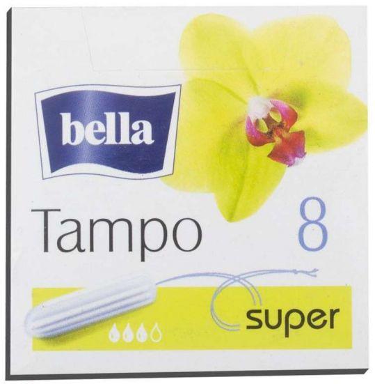 Белла тампоны супер+ апл. 8 шт., фото №1