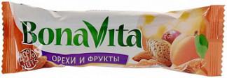 Бона вита батончик ореховый с фруктами и медом 35г