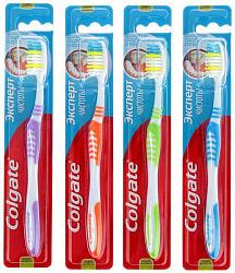 Колгейт эксперт чистоты зубная щетка средняя n3+1