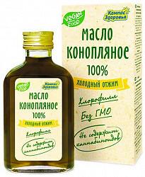 Конопляное масло пищевое 100мл