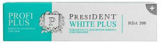 Президент профи вайт плюс зубная паста 30мл