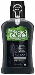 Лесной бальзам ополаскиватель для полости рта черный уголь/мята 250мл