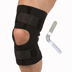 Тривес бандаж разъемный на коленный сустав с шарнирами т-8518 размер s