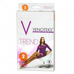 Венотекс тренд чулки компрессионные женские 2класс арт.2c205 размер m бежевый