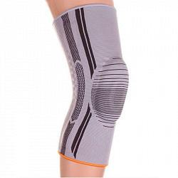 Томан бандаж на коленный сустав c силиконовым кольцом 2 ребра жесткости арт.ks-e01 размер xxхl