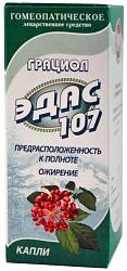 Эдас-107 25мл капли гомеопатические (грациол)