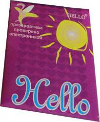 Хеллоу презервативы 3 шт.