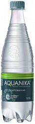 Вода мин. акваника премиум 0,6газпэт