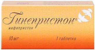 Гинепристон 10мг 1 шт. таблетки