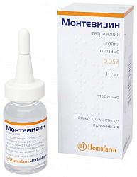 Монтевизин 0,05% 10мл капли глазные