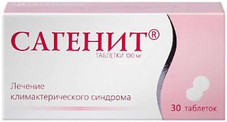 Сагенит 100мг 30 шт. таблетки