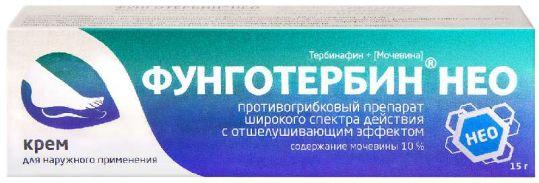 Фунготербин нео 15г крем, фото №1