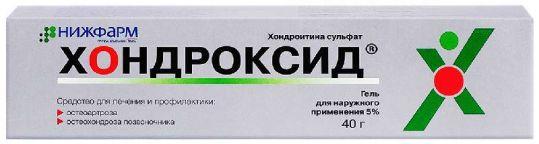 Хондроксид 5% 40г гель, фото №1