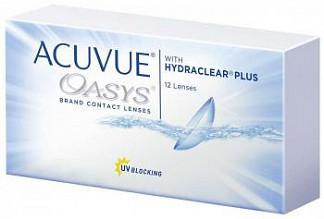 Акувью оазис линзы контактные r8.4 -6,00 12 шт.