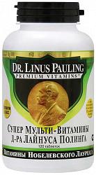 Супер мульти-витамины д-ра лайнуса полинга таблетки 120 шт.