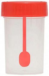 Контейнер для кала 100мл с ложкой