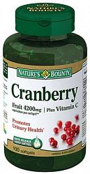 Нэйчес баунти капсулы концентрат ягод клюквы 100 шт.