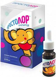 Простолор протаргол 200мг таблетки для приготовления раствора для местного применения