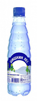 Вода мин. шишкин лес 0,4л газ